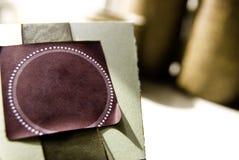 Rectángulo Textured papel Foto de archivo