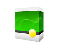 Rectángulo verde del software stock de ilustración