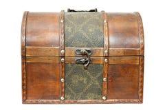 Rectángulo viejo del tesoro Foto de archivo