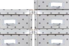 Rectángulos de almacenaje Fotos de archivo libres de regalías