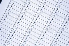 Rectángulos de depósito de seguridad Imágenes de archivo libres de regalías