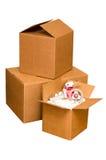 Rectángulos de envío Imágenes de archivo libres de regalías