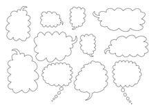 Rectángulos de la burbuja stock de ilustración