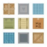 Rectángulos de la colección ilustración del vector