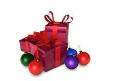 Rectángulos de la Navidad Imágenes de archivo libres de regalías