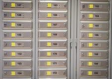 Rectángulos de la oficina de correos fotos de archivo
