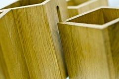 Rectángulos de madera Fotografía de archivo