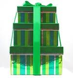 Rectángulos de regalo Imagen de archivo