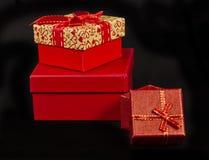 Rectángulos de regalo Fotografía de archivo