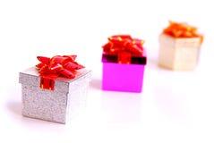 Rectángulos de regalo Imagen de archivo libre de regalías