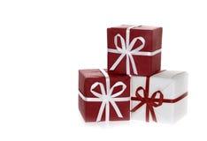Rectángulos de regalo Foto de archivo libre de regalías
