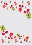 Rectángulos de regalo coloridos ilustración del vector