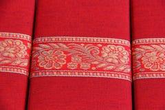 Rectángulos de regalo de seda del detalle Fotos de archivo