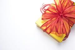 Rectángulos de regalo en el fondo blanco Imagen de archivo libre de regalías