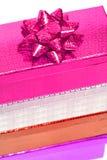 Rectángulos de regalo Varicoloured Imagenes de archivo