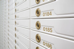 Rectángulos de seguridad. foto de archivo libre de regalías