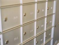 Rectángulos del correo Fotografía de archivo