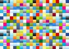 Rectángulos del gradiente ilustración del vector