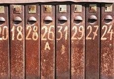 Rectángulos del poste Fotografía de archivo libre de regalías