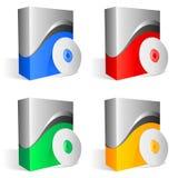 Rectángulos del software. stock de ilustración