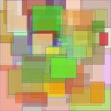 Rectángulos geométricos abstractos Fotos de archivo libres de regalías
