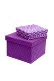 Rectángulos púrpuras Fotos de archivo libres de regalías