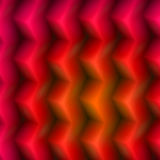 Rectángulos rojos 3d ilustración del vector