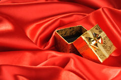 Rectángulos vacíos del oro Foto de archivo
