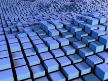 Rectángulos y fondo de los cuadrados Imagen de archivo