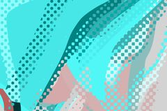 Rect?ngulos azules 2 Formas y formas coloridas creativas Modelo geom?trico Textura gr?fica brillante ci?nica y del rosa stock de ilustración