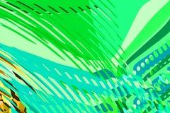 Rect?ngulos azules 2 Formas y formas coloridas creativas Modelo geom?trico Textura gr?fica brillante verde, amarilla y p?rpura stock de ilustración