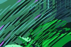 Rect?ngulos azules 2 Formas y formas coloridas creativas Modelo geom?trico Textura gr?fica brillante verde y p?rpura stock de ilustración