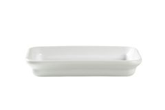 Rectangle ceramic cook and serve dish Stock Photography
