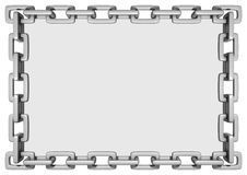 Rectangle Chain Frame Royalty Free Stock Photo