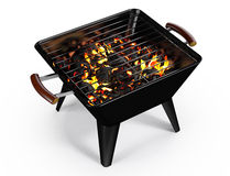 Rectangle Charcoal Grill Stock Photos