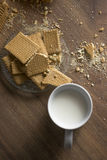 Rectangle Cookies Stock Images
