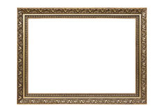 Rectangle decorative picture frame Royalty Free Stock Photography