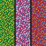 Rectangle Dots Background Stock Image
