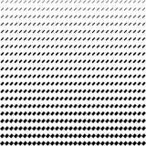 Rectangle half tone pattern background Stock Image