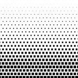 Rectangle Halftone Element, Monochrome Abstract Graphic. Ready f. Or DTP, Prepress or Generic Concepts Royalty Free Stock Image
