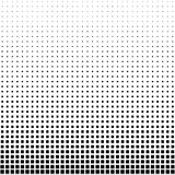 Rectangle Halftone Element, Monochrome Abstract Graphic. Ready f. Or DTP, Prepress or Generic Concepts Stock Images