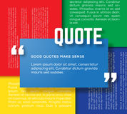 Rectangle Motivation Quote Template Vector Color Royalty Free Stock Image
