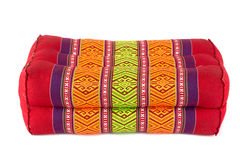 Rectangle pillow like Thai style, white background Stock Image