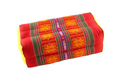 Rectangle pillow Thai style Stock Photo