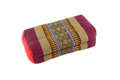 Rectangle pillow Thai style Royalty Free Stock Image