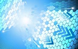 Rectangle polygon abstract background. EPS 10 Vector Royalty Free Stock Photos