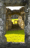 Rectangle Ruins Royalty Free Stock Photography