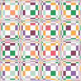 Rectangle seamless pattern Royalty Free Stock Images
