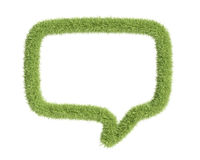 Rectangle speech bubble frame Royalty Free Stock Image