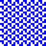 Blue and white geometric pattern background. Rectangle, square and polygon pattern background vector Royalty Free Stock Image
